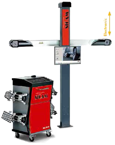 Sicam Wheel Alignment Machine